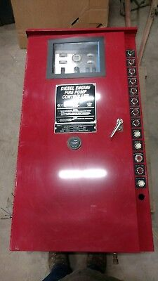 Diesel engine Fire Pump Controller