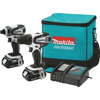 MAKITA ct200rw lithium-ion drill/driver  impact driver combo 18v 2 Year Warranty