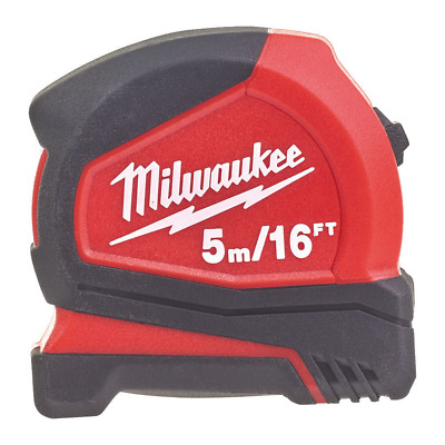 Milwaukee Pro Tape Measure Metric/imperial 5M/16Ft - 4932459595