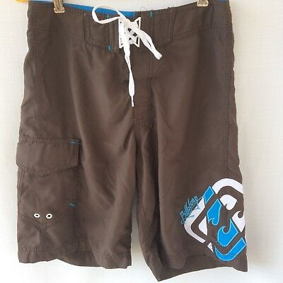 dae2ea87dc BROWN MENS BILLABONG Swim Trunks Board Shorts Size 28 - $10.44 ...