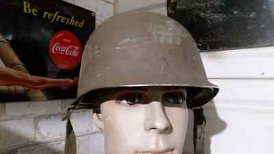 Casque Usm1 Complet Type Us Ww2 Militaria Jeep