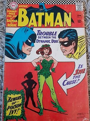 Batman 181 DC comic poison ivy First edition inc. perfect pin up poster