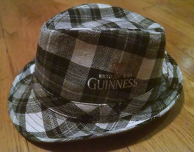 Guinness Beer Fedora Hat