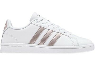 lowest price 2437a 9940a ADIDAS CF ADVANTAGE scarpe stan donna smith superstar sportive sneakers  pelle