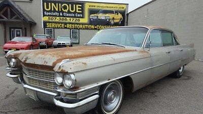 1963 Cadillac DeVille  1963 Cadillac Sedan Deville 4dr Hardtop, runs and drives! WITH TITLE!