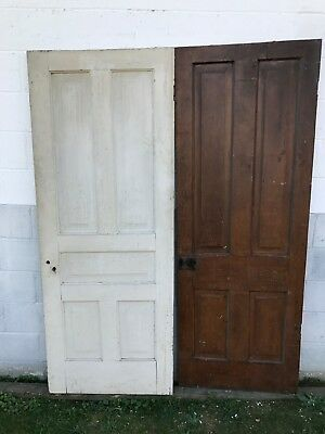 2 Rough Shabby Antique Raised Panel Interior Sliding Barn Pinterest Wood Doors