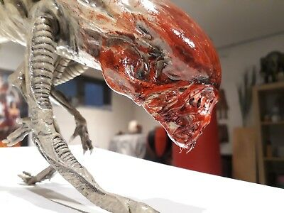 """Aliens Queen Chestburster -bloody-  finished Replica  1/1 Lifesize Scale 40"""""""