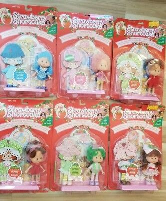 1991 Vintage Lot of 6 Strawberry Shortcake NEW IN BOX