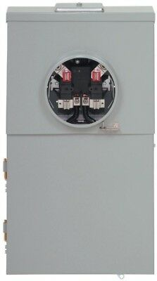 Combination Meter Breaker 200 Amp 12-Space 12-Circuit Main Lug Distribution Pane