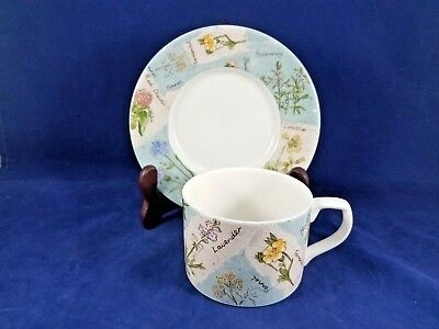 """Royal Doulton  WILD FLOWER  Cup & Saucer 2 7/8"""""""