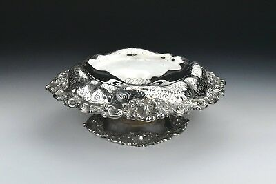Early Black Starr & Frost Sterling Silver Compote 17.5 Troy Ounces