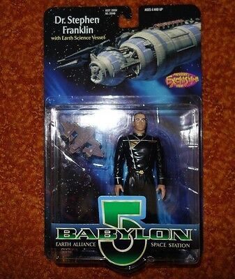 Babylon 5 Dr.Stephen Franklin Earth Vessel Action Figure Previews Exclusive 1997