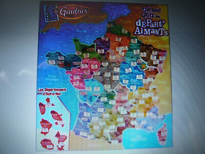2 Magnets Le Gaulois Departements Depart'aimants Nouvelle Collection Au Choix