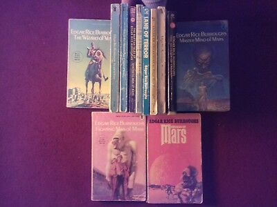 Bundle of 12 Edgar Rice Burroughs books