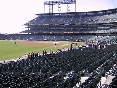 2 Tickets San Francisco Giants vs. Houston Astros 08/07