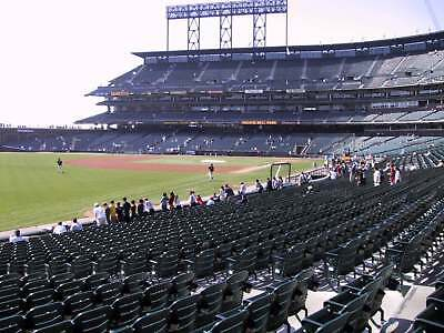 2 Tickets San Francisco Giants vs. Pittsburgh Pirates 08/10