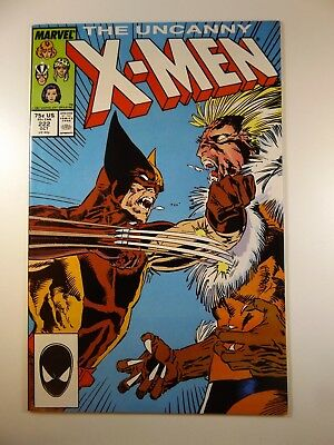 The Uncanny X-Men #222 Sabretooth/Wolvie NM!!  Very Sharp Copy of this one!!