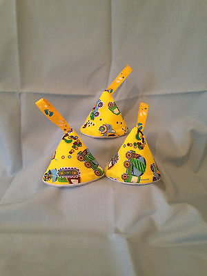 baby boy nappy pee pee teepee (set of 3)Baby Shower/Gift Idea(Yellow dump truck)
