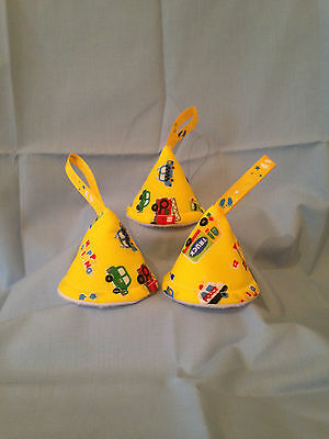 baby boy nappy pee pee teepee (set of 3) Baby Shower/Gift Idea(Yellow,vehicles)