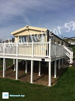 Devon cliffs haven 2 bedroom deluxe 6 berth caravan to for Beds exmouth