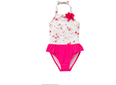 Janie and Jack Beach Umbrella Baby Girl Swimsuit New With Tags 18-24 Months