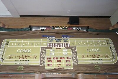 Genuine Craps Layout from Golden Nugget Downtown Las Vegas