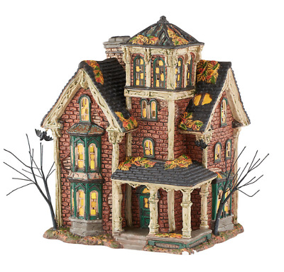 Department 56, Halloween Village, Ghastly's Haunted Villa - 4051007