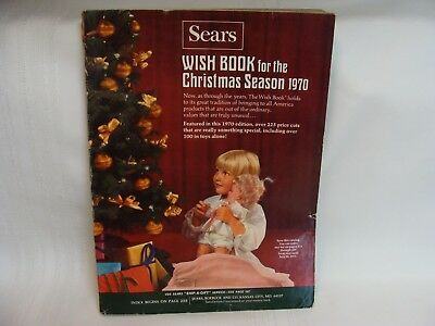 1970 Sears Wish Book for the Christmas Season Barbie & Ken Hot Wheels