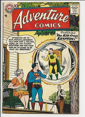 1957 DC Adventure Comics #242 Fine