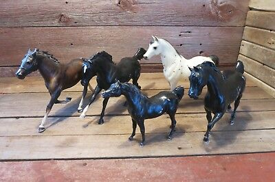Vintage Breyer Horse Lot Classic Vintage Retired Horses!