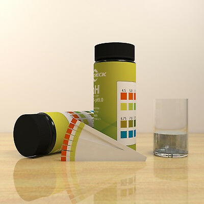 pH Test Strips-  Silva  Urine Tests Body pH Levels for Alkaline & Acid 100 ct.
