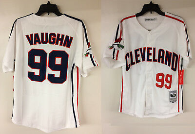 Major League Cleveland Indians Rick Vaughn Wild Thing Movie Authentic Jersey fbdb1eb00