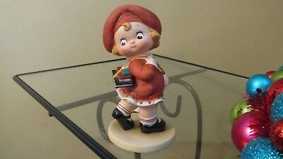 Campbell Kids Porcelain Figurine Collection Limited Edition School Days