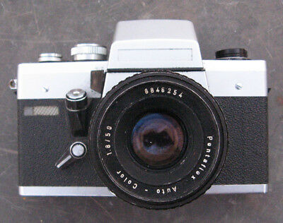 Vintage German Porst? Film Camera with Pentaflex Auto-Color f1.8 50mm Lens
