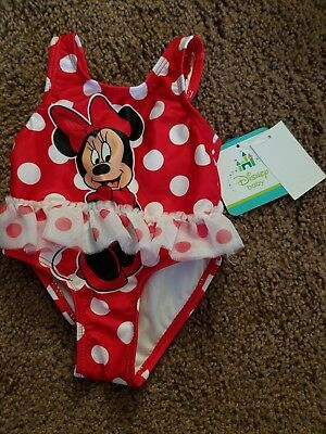 Minnie Mouse Newborn Swimsuit