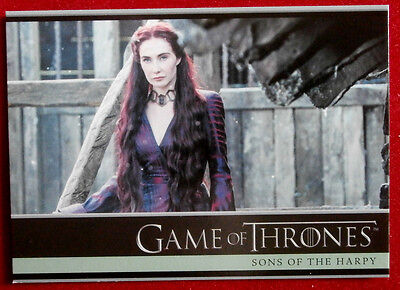 GAME OF THRONES - Season 5 - Card #11 - SONS OF THE HARPY - B - Rittenhouse 2016