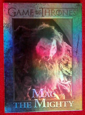 GAME OF THRONES - MAG THE MIGHTY - Season 4 - FOIL PARALLEL Card #98