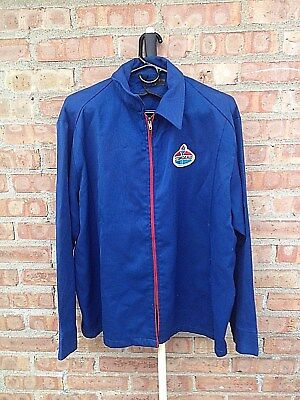 Vintage Stanard Oil Company Gas Station Jacket  Unitog 48 Long Fits Like X Large