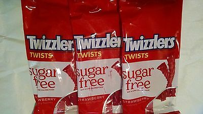 Sugar Free Strawberry Twizzlers 5 Oz Bags 3 Bags 15 95 Picclick