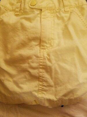 Old Navy Girls Skirt, Size 4/4T,  Yellow, 100% Cotton Great Price!!