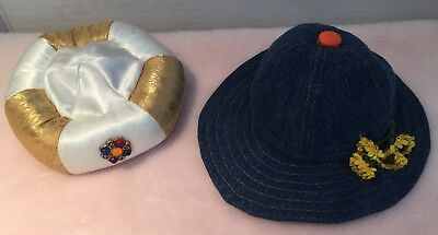 Magic Attic Club~Alison Arabian & Megan Sunflower Hat~Fits American Girl Dolls~