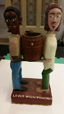 Americana Hippies Statue Peace / Love Really Cool Collectible