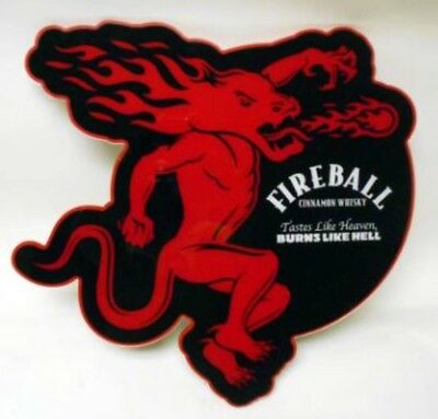 """Fireball Whiskey LED Sign 24"""" Used But GREAT shape"""