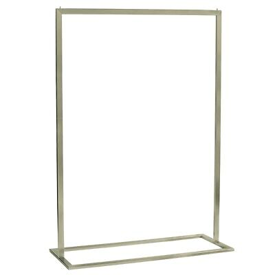 Clothing Rack Chrome Shop Fitting - 4 Available