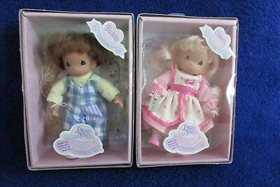 Precious Moments Friendship Garden Dolls - Buddy and Cherry