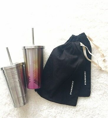 STARBUCK Stainless Steel Cold Cup Tumbler SET