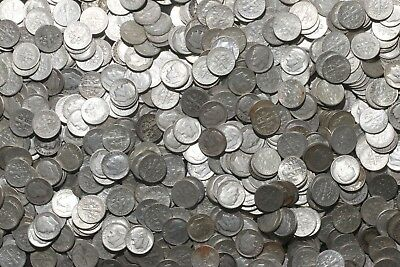 One Roll 90% Silver Roosevelt Dimes (50 Coins) 1946-1964   Lot G91
