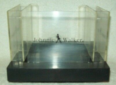 Vintage Johnnie Walker Scotch Cocktail Napkin Straw Coaster Caddy Holder