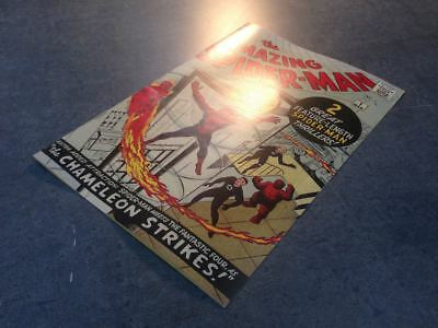 Facsimile reprint covers only to Amazing Spider-Man #1