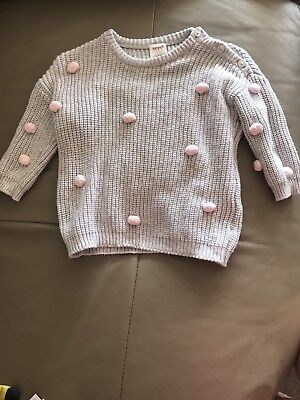 Seed Pom Pom Knitted Jumper Size 00